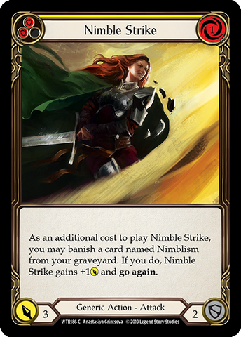 Nimble Strike - Yellow