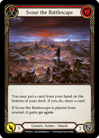 Scour the Battlescape - Red
