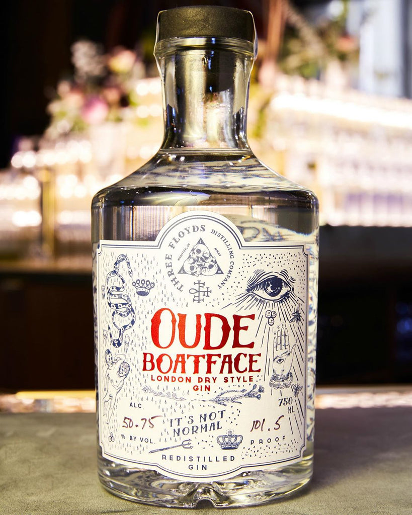 Oude Boatface Gin - PICK-UP ONLY