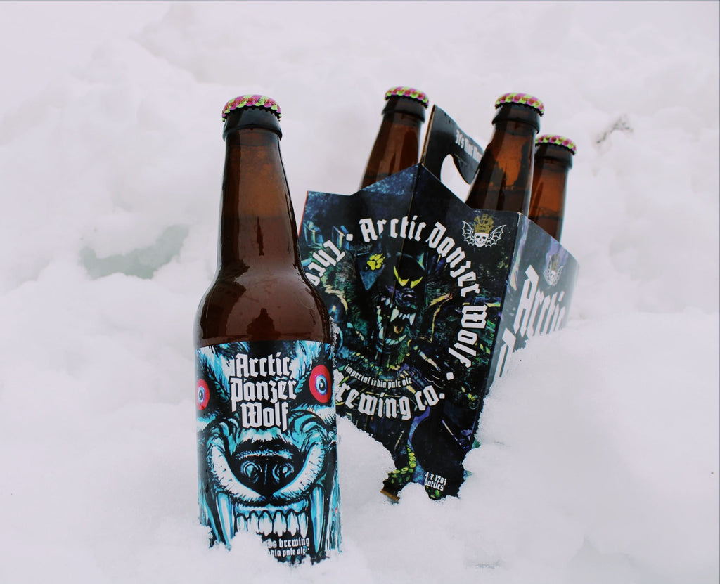 Arctic Panzer Wolf 4pk Bottles - PICK-UP ONLY