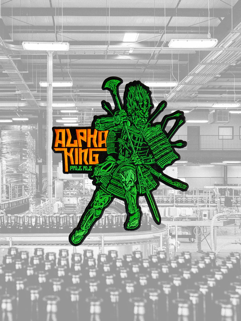 Large Alpha King Patch