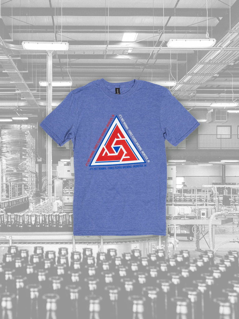 Blue Triangle Tee - PICK-UP ONLY #6