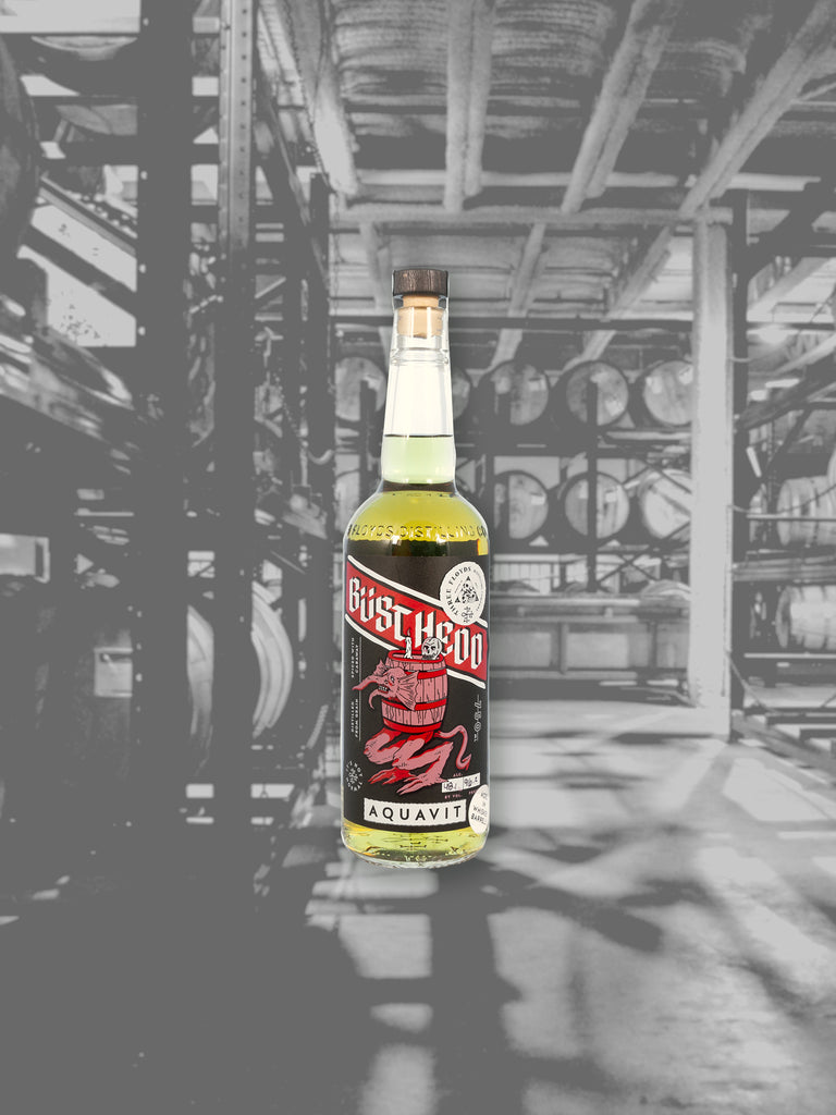 Barrel-Aged Büsthedd Aquavit - PICK-UP ONLY
