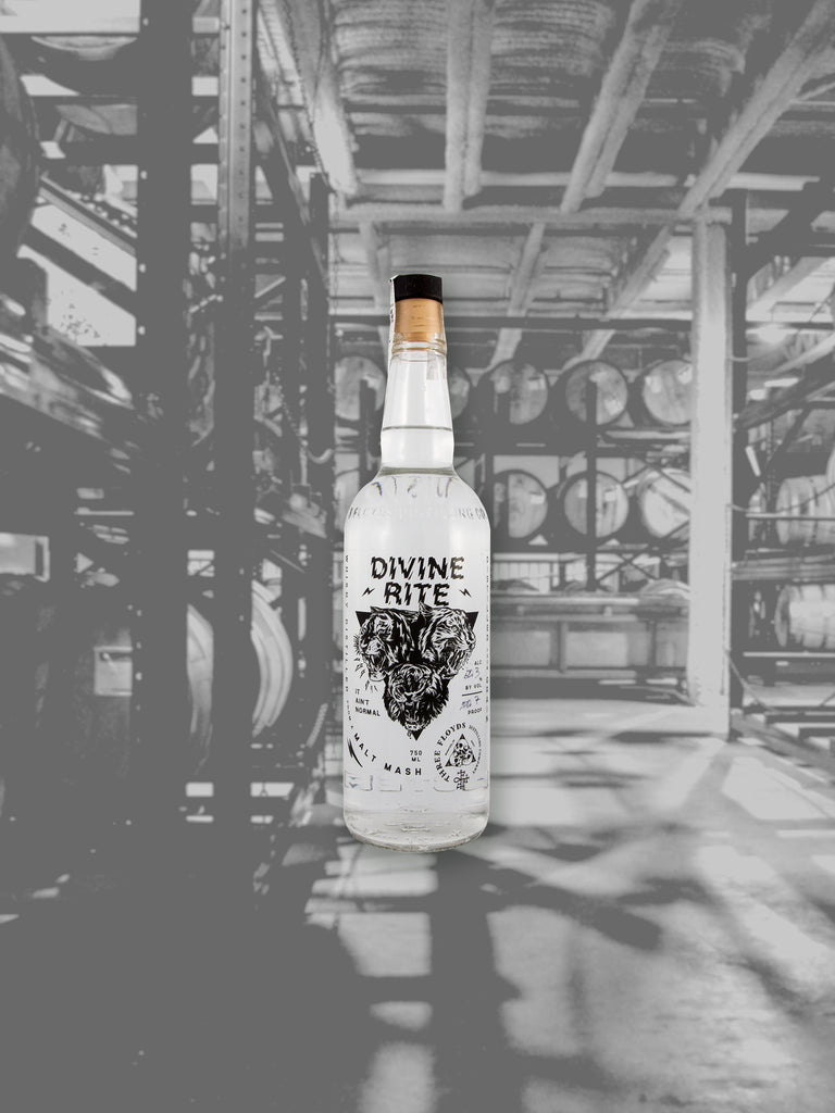 Divine Rite White Whiskey - PICK-UP ONLY