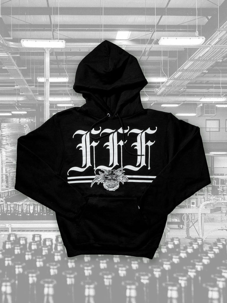 FFF Distilling Pullover Hoodie Black - PICK-UP ONLY