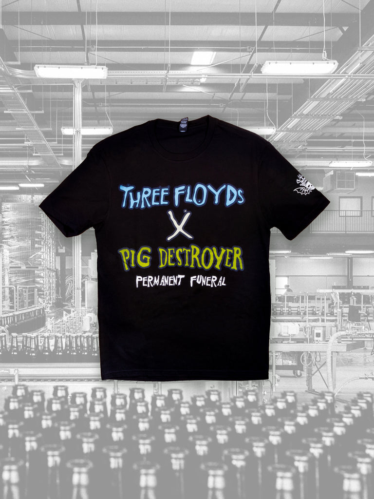 Permanent Funeral x Pig Destroyer Tee - PICK-UP ONLY #12