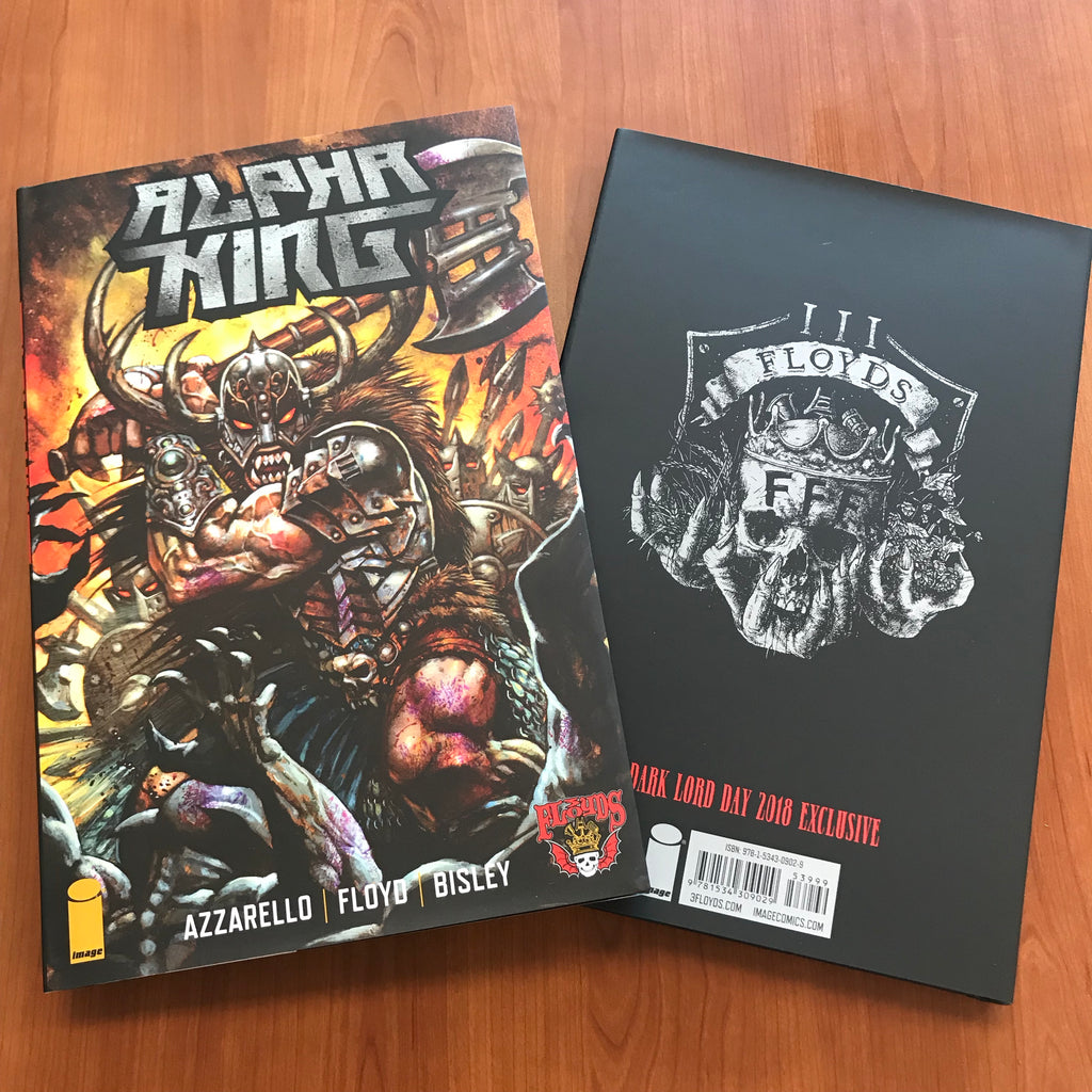 Alpha King Comic Hardcover Edition