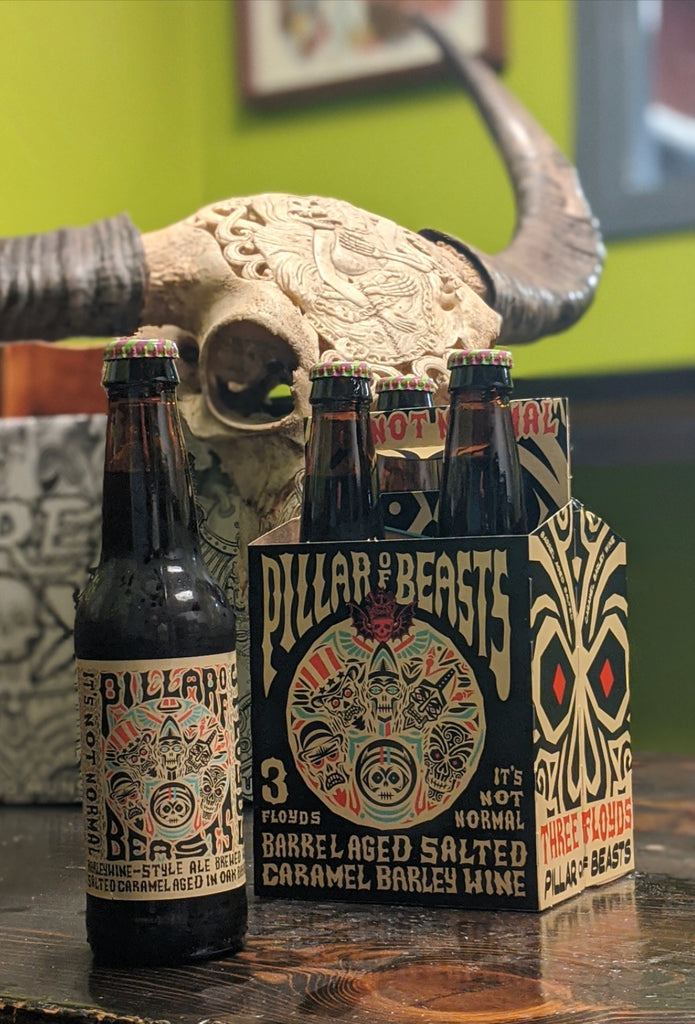 Pillar of Beasts BA Barleywine 12oz Bottle 4pk - PICK-UP ONLY