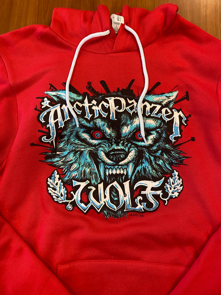 Arctic Panzer Wolf Pullover Hoodie - PICK-UP ONLY