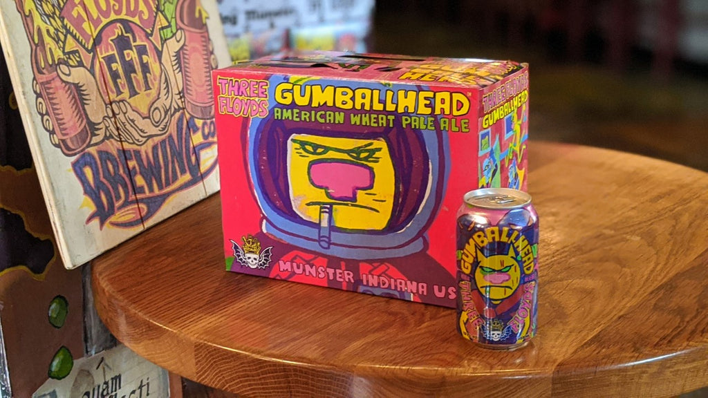 New! Gumballhead 12 Pack Cans - PICK-UP ONLY