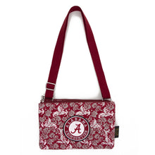 Load image into Gallery viewer, NCAA Alabama or Auburn Purse Cross Body Bloom - SE Collegiate Gifts