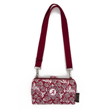 Load image into Gallery viewer, NCAA Alabama or Auburn Wallet Cross Body Bloom - SE Collegiate Gifts