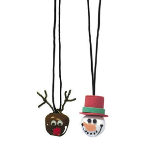 Snowman & Reindeer Bell Kit for Kids - SE Collegiate Gifts