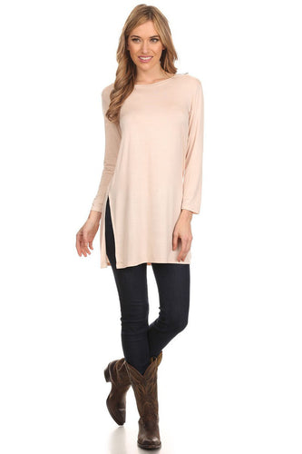 Plus Size Long Sleeve Knit Top 2X or 3X - SE Collegiate Gifts