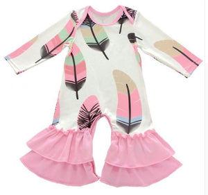 Baby Girl Fall Winter Rompers - SE Collegiate Gifts
