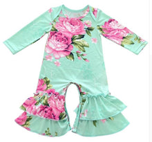 Load image into Gallery viewer, Baby Girl Fall Winter Rompers - SE Collegiate Gifts