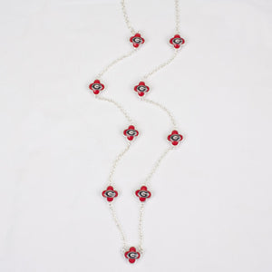 Georgia Quatrefoil Necklace - SE Collegiate Gifts
