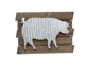 Country Animal Plank Wall Art - Choice of Design - SE Collegiate Gifts
