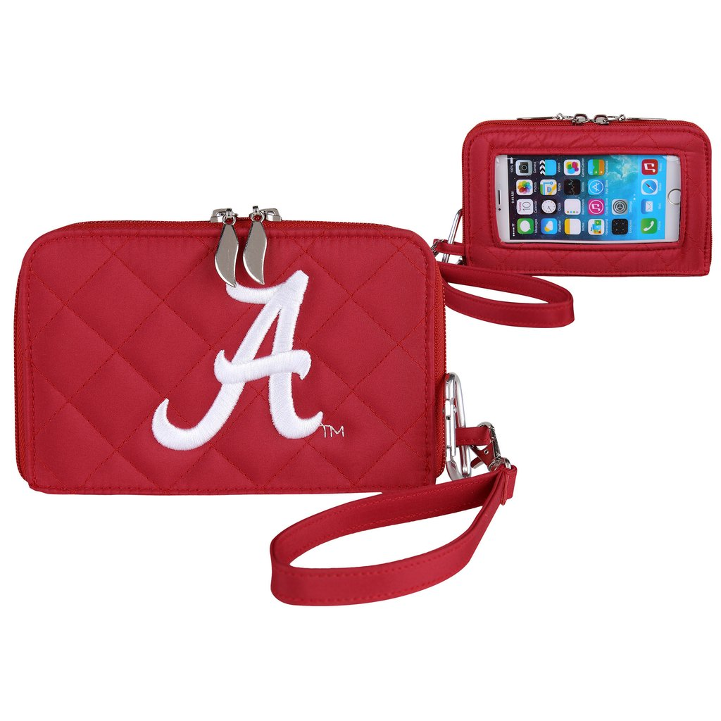 Alabama Crimson Tide Smart Wallet Quilted - SE Collegiate Gifts