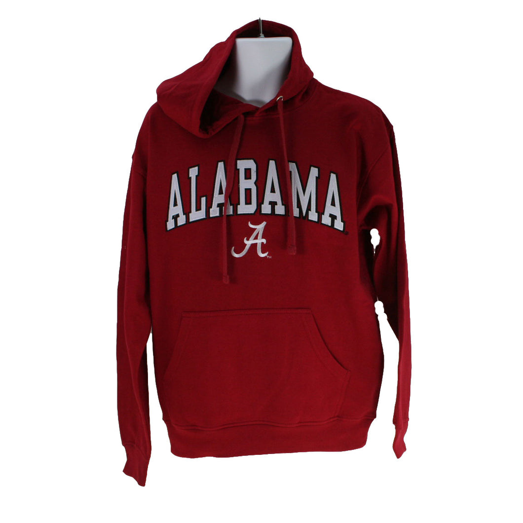 Alabama Crimson Tide Hooded Sweatshirt- Crimson Mascot One - SE Collegiate Gifts