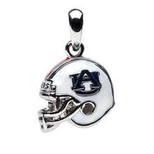 Load image into Gallery viewer, Auburn Football Helmet Charm Pendant by Stone Armory - SE Collegiate Gifts