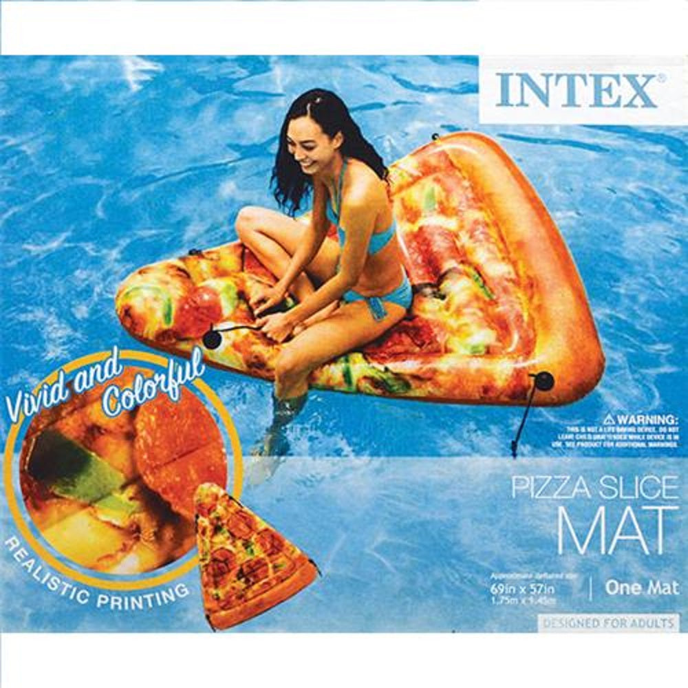 PIZZA SLICE SWIM MAT 69