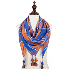 Load image into Gallery viewer, Lightweight Scarf with Tassels - SE Collegiate Gifts