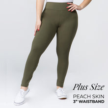 Load image into Gallery viewer, Ladies Leggings, New Mix by New Kathy 3 inch waistband Soft Regular or Plus Size