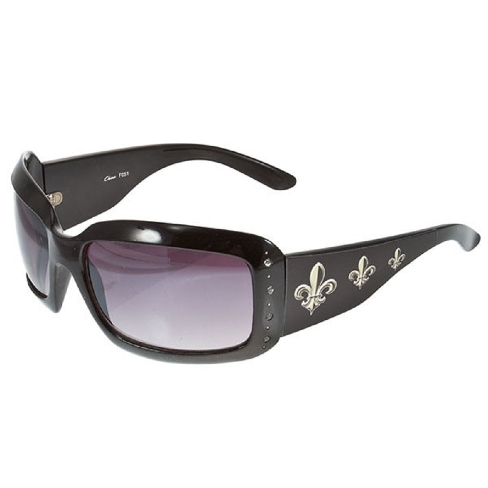 Fleur de  Lis and CZ Sunglasses - SE Collegiate Gifts