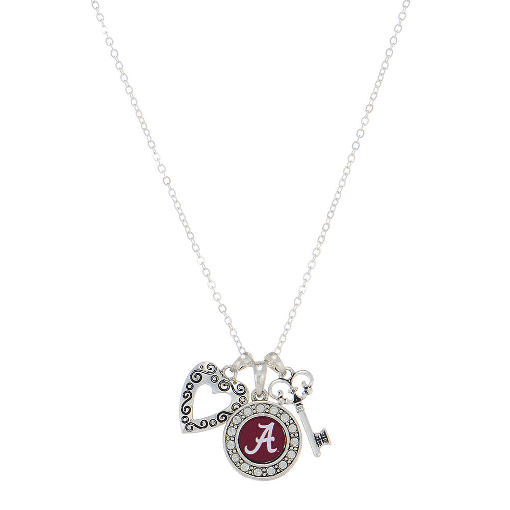 Alabama Crimson Tide Touchdown Necklace - SE Collegiate Gifts