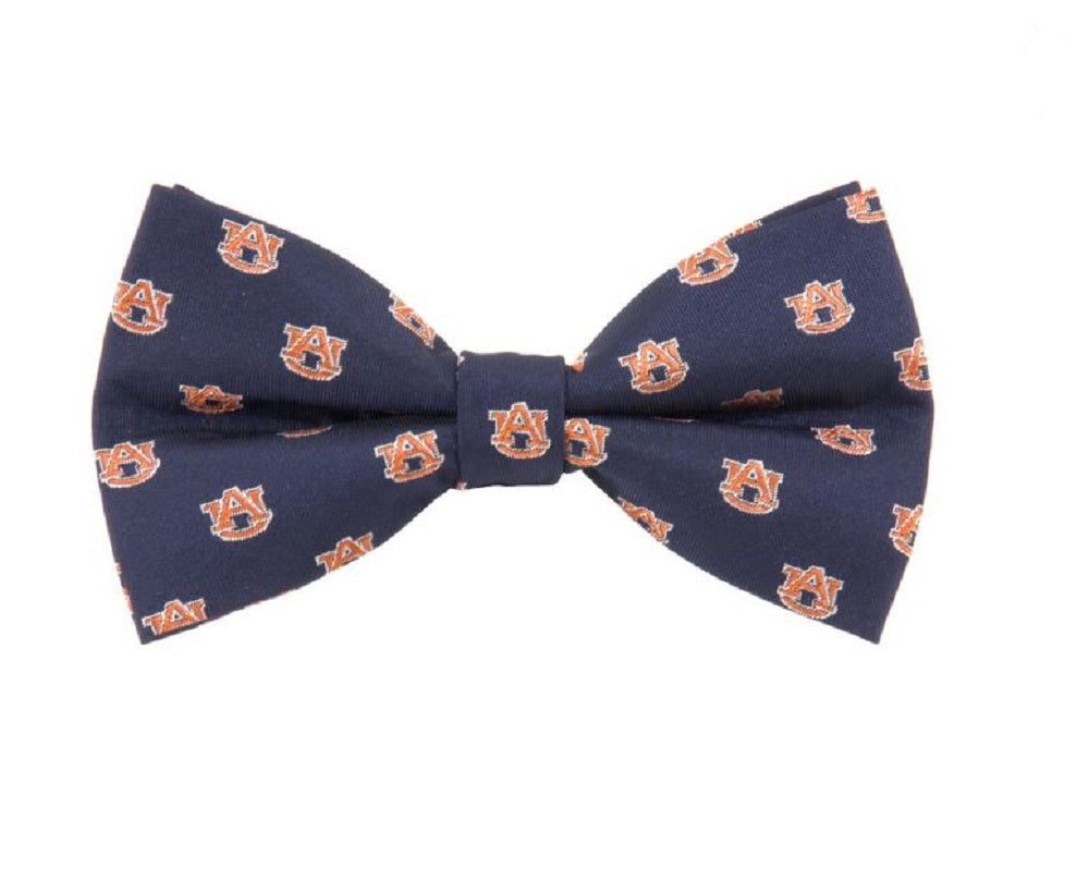 Auburn Repeat Bow Tie - SE Collegiate Gifts