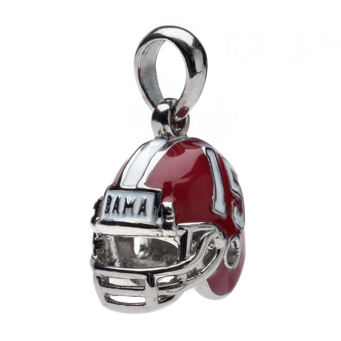 Alabama Crimson Tide Football Helmet Charm Pendant - SE Collegiate Gifts