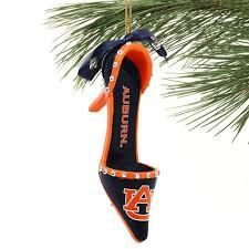 NCAA Auburn Tigers High Heel Christmas Tree Ornament - SE Collegiate Gifts