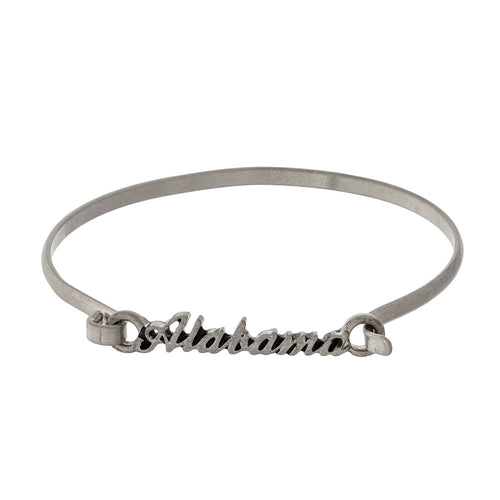 Alabama Script Bangle Bracelet - SE Collegiate Gifts