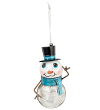 Load image into Gallery viewer, Mercury Ornaments Choices: Red-Nosed Reindeer, Santa, Snowman - SE Collegiate Gifts