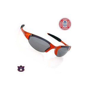 Auburn Orange Rimless Wrap Sunglasses - SE Collegiate Gifts