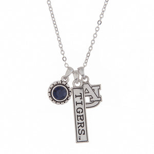 NCAA Triple Charm Necklace - SE Collegiate Gifts