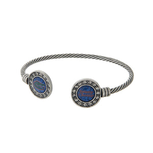 Florida Gators Cuff Bracelet - SE Collegiate Gifts
