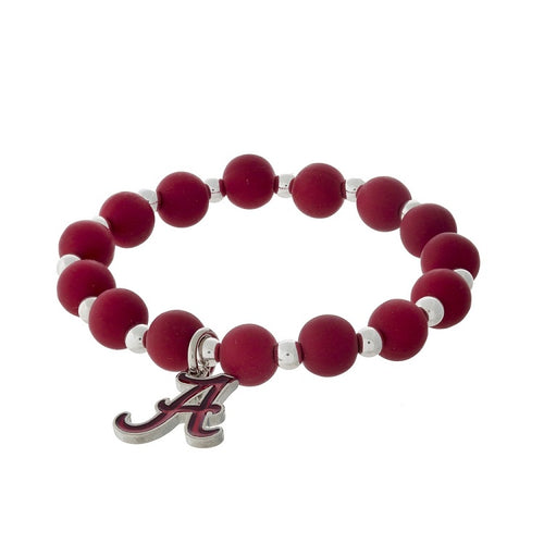 Alabama Beaded Stretch Bracelet - SE Collegiate Gifts