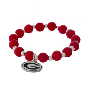 Georgia Beaded Stretch Bracelet - SE Collegiate Gifts