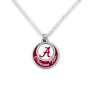 Alabama Stacked Disc Necklace - SE Collegiate Gifts