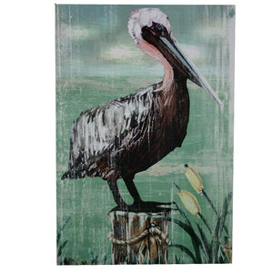 Wall Plaque, Pelican