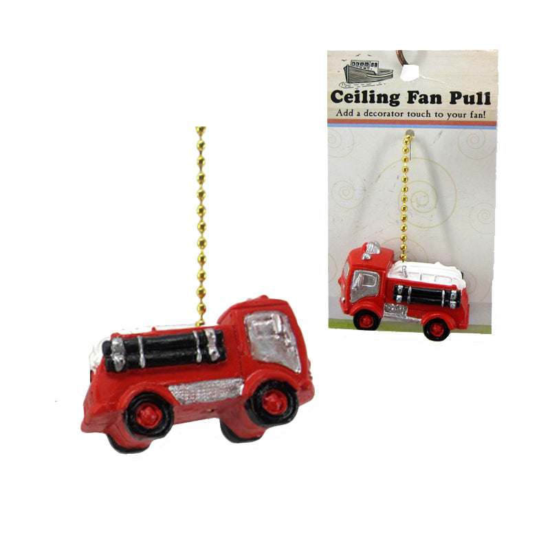 Fan Pull, Fire Engine - SE Collegiate Gifts
