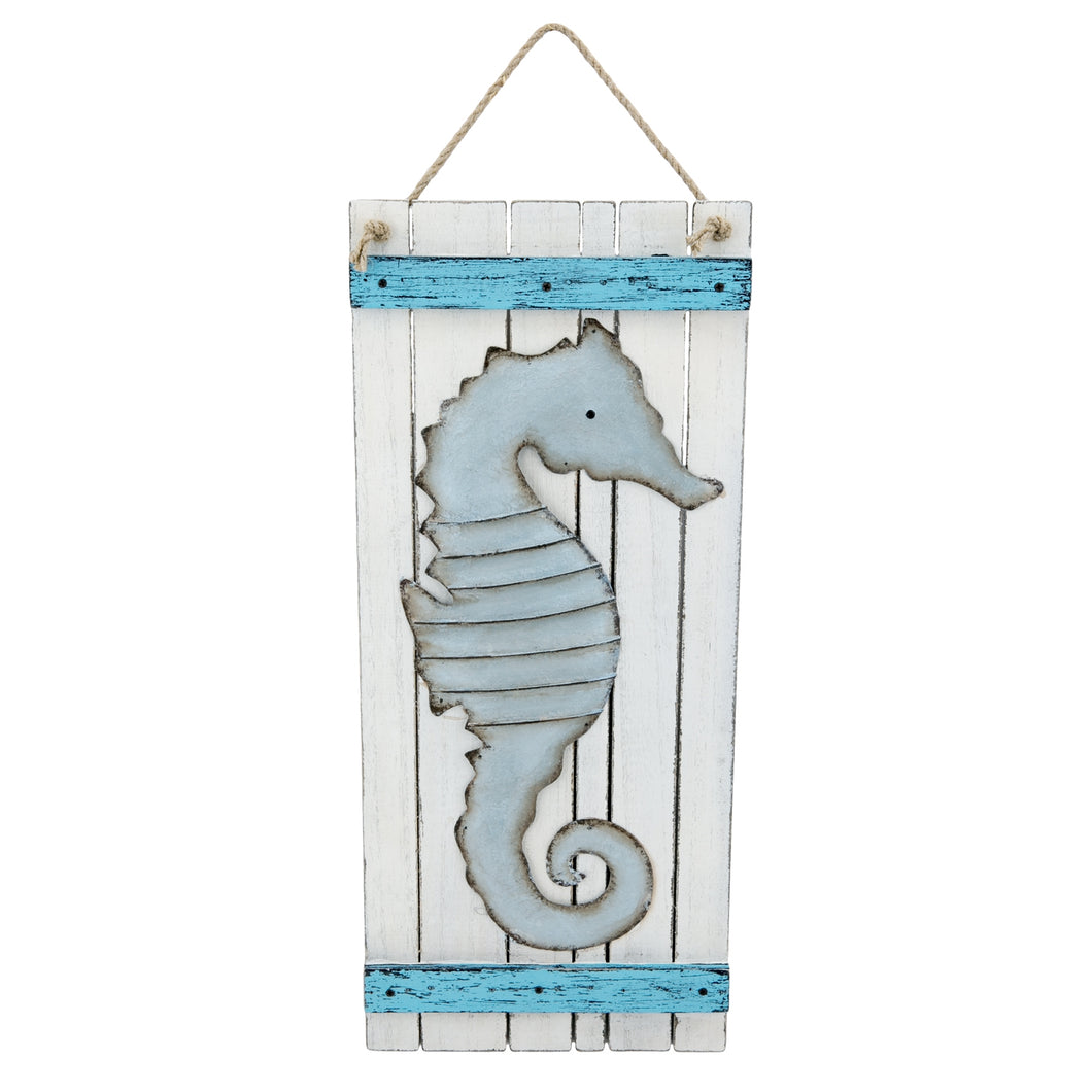 Large Metal Seahorse Sign - SE Collegiate Gifts