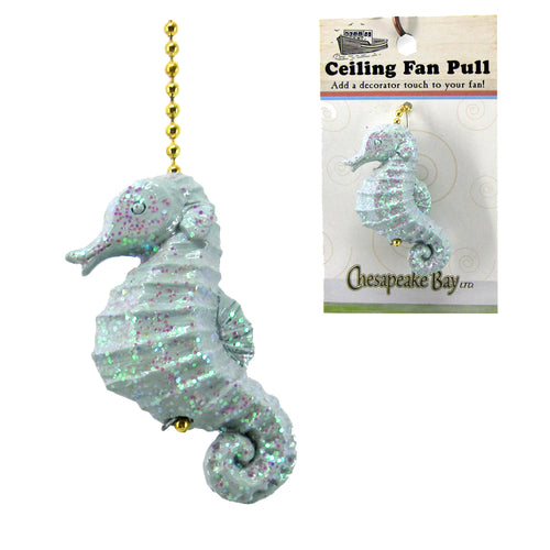 Fan Pull, Seahorse - SE Collegiate Gifts