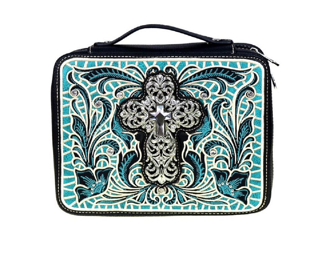 Bible Cover, Turquoise - SE Collegiate Gifts