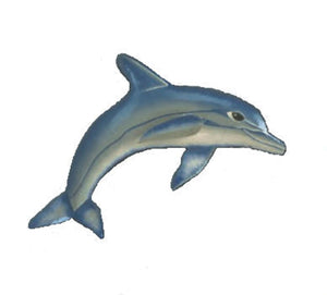 "19"" Dolphin - Metal Art - SE Collegiate Gifts"