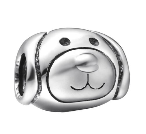 Cartoon Dog Bead - SE Collegiate Gifts