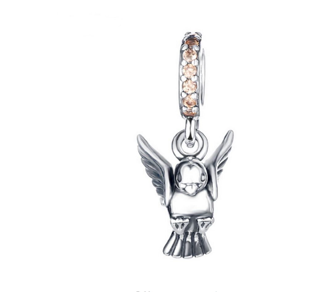Landing Bird Charm - SE Collegiate Gifts