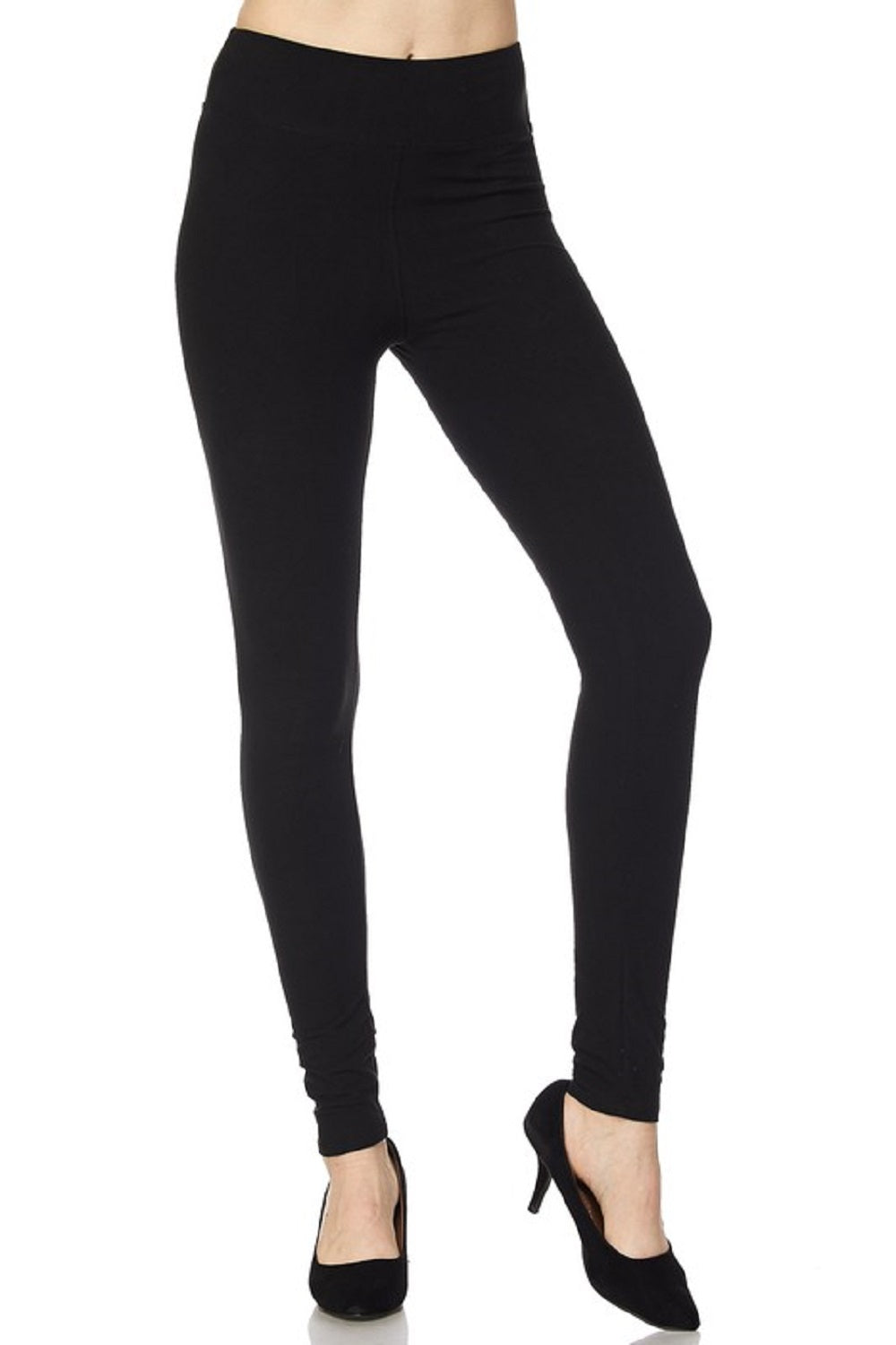 Ladies Leggings, New Mix by New Kathy 3 inch waistband Soft Regular or Plus Size - SE Collegiate Gifts